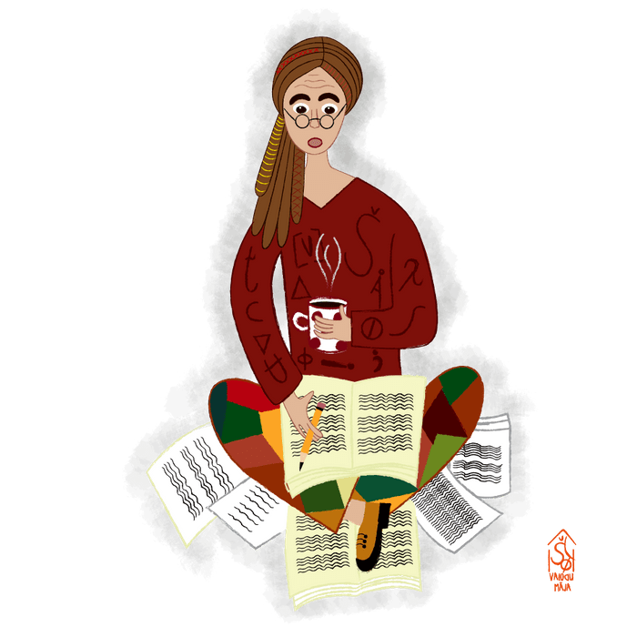 Valodu māja - Endželīna Leikofsone