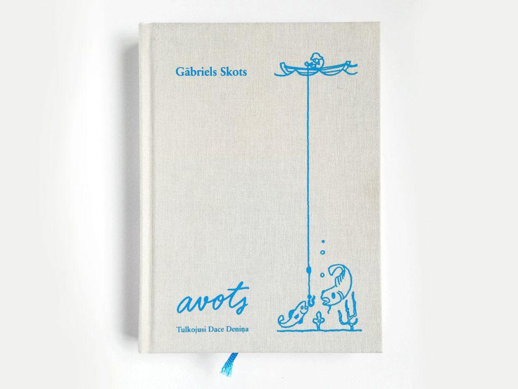 Grāmata Avots - vāks
