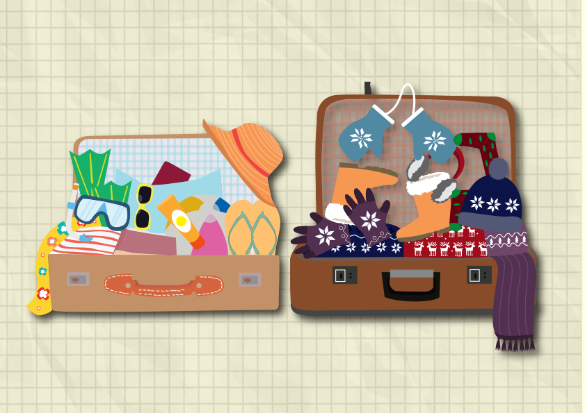 Kas tev ir bagāža?