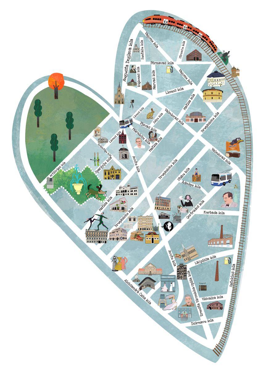 Avotu apkaime - Rīgas sirds